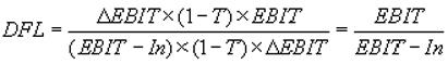 Леверидж финансовый формула