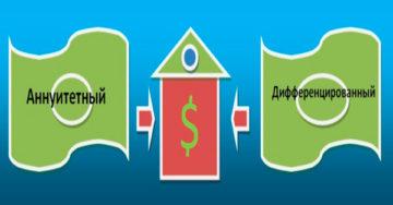 Аннуитетный кредит и дифференцированный
