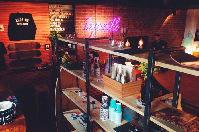 Франшиза Surf Coffee: общая мечта